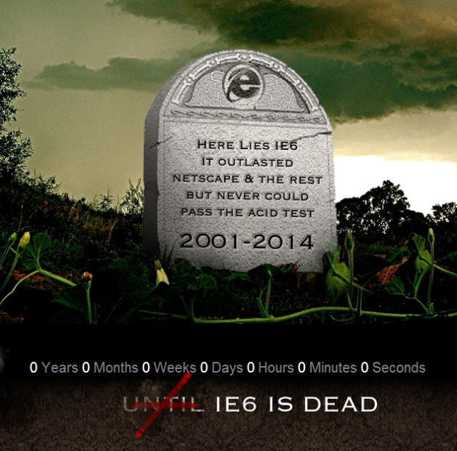 IE6 Death