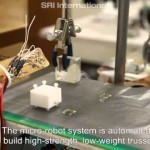 Incredibly Small, Magnetically Actuated Robots Work Together to Create Larger Structures