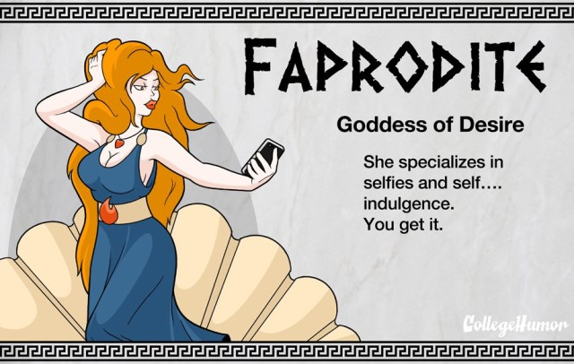 The Gods of the Internet Pantheon by CollegeHumor