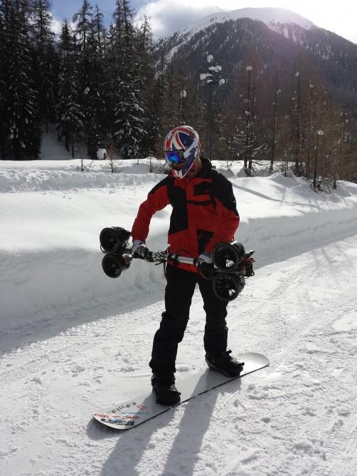 Jamie Barrow Snowboard Thrusters