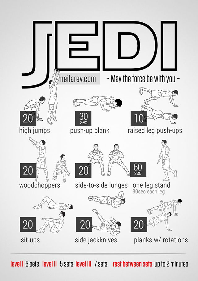 Visual Workout Posters Inspired by Popular Movies, TV Shows, and