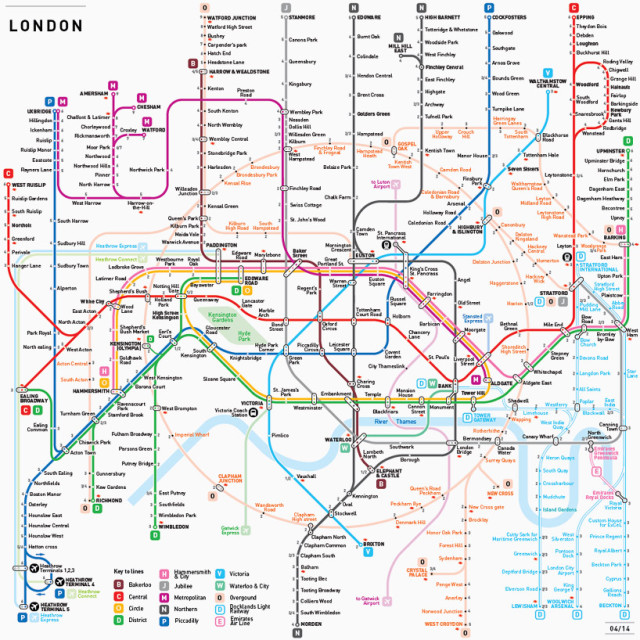 INAT Mapping Standard for Transit Systems