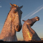 A Construction Time-Lapse of 'The Kelpies,' Scotland's Monumental Horse Sculptures
