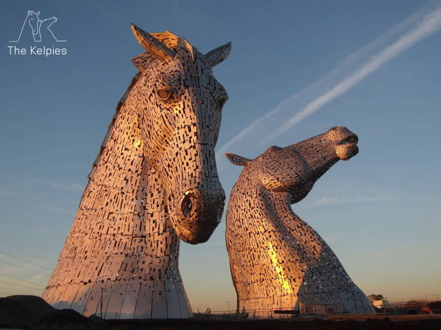 The Kelpies Time-Lapse