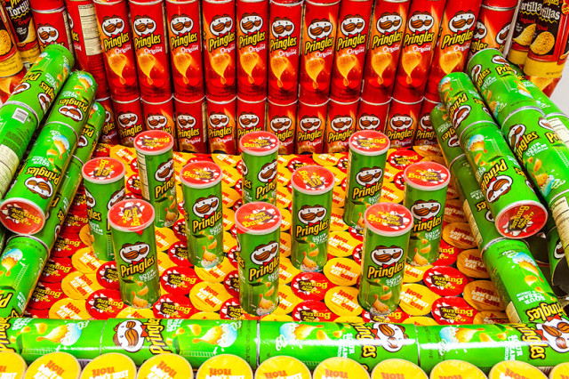 Playable Pringles Can Pipe Organ