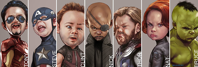 Little Avengers Montage