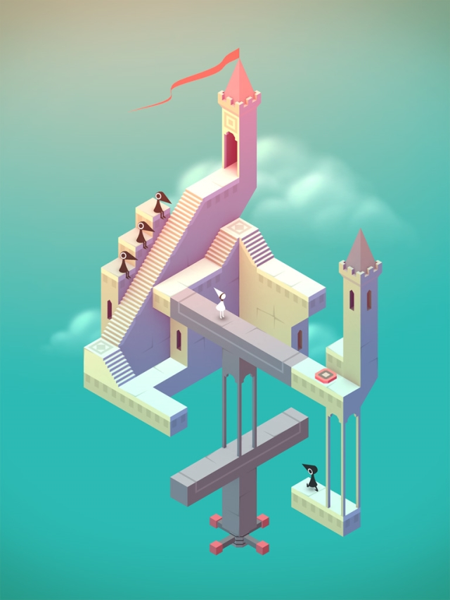 'Monument Valley', A Beautiful Puzzle Video Game Inspired by M.C. Escher