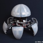 MorpHex MKII, A Six-Legged Robot That Transforms Into a Ball
