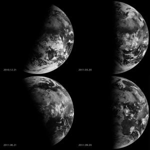 NASA Seasons From Space