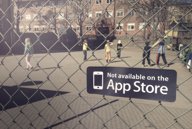 Not on App Store Sticker