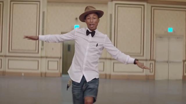 Happy (Pharrell Williams song) - Wikipedia |Pharrell Happy Girl