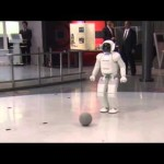 President Obama Plays Soccer With Japanese Robot ASIMO