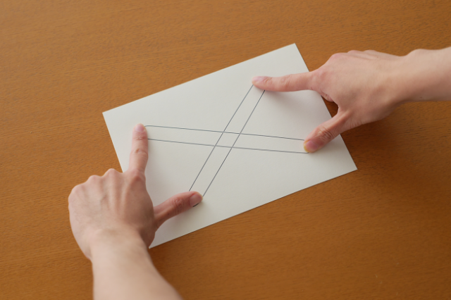 Clever Geometric Illustrations Create Illusions When Fingers Are Placed on Them