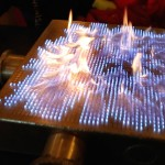 Pyro Board, A Fascinating Demonstration of Sound Waves Interacting With Sound Pressure Using Fire