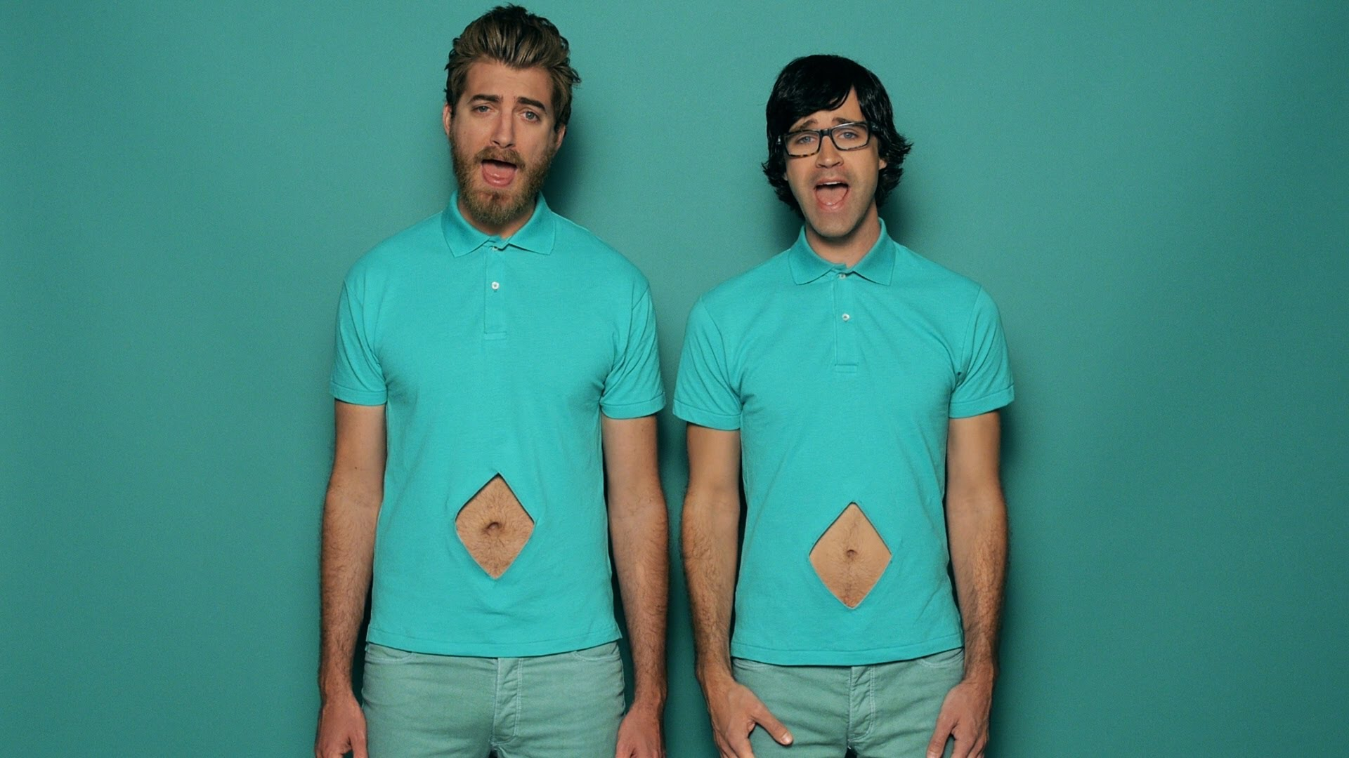 Rhett Amp Link Discover Their Navels And Sing All About Them
