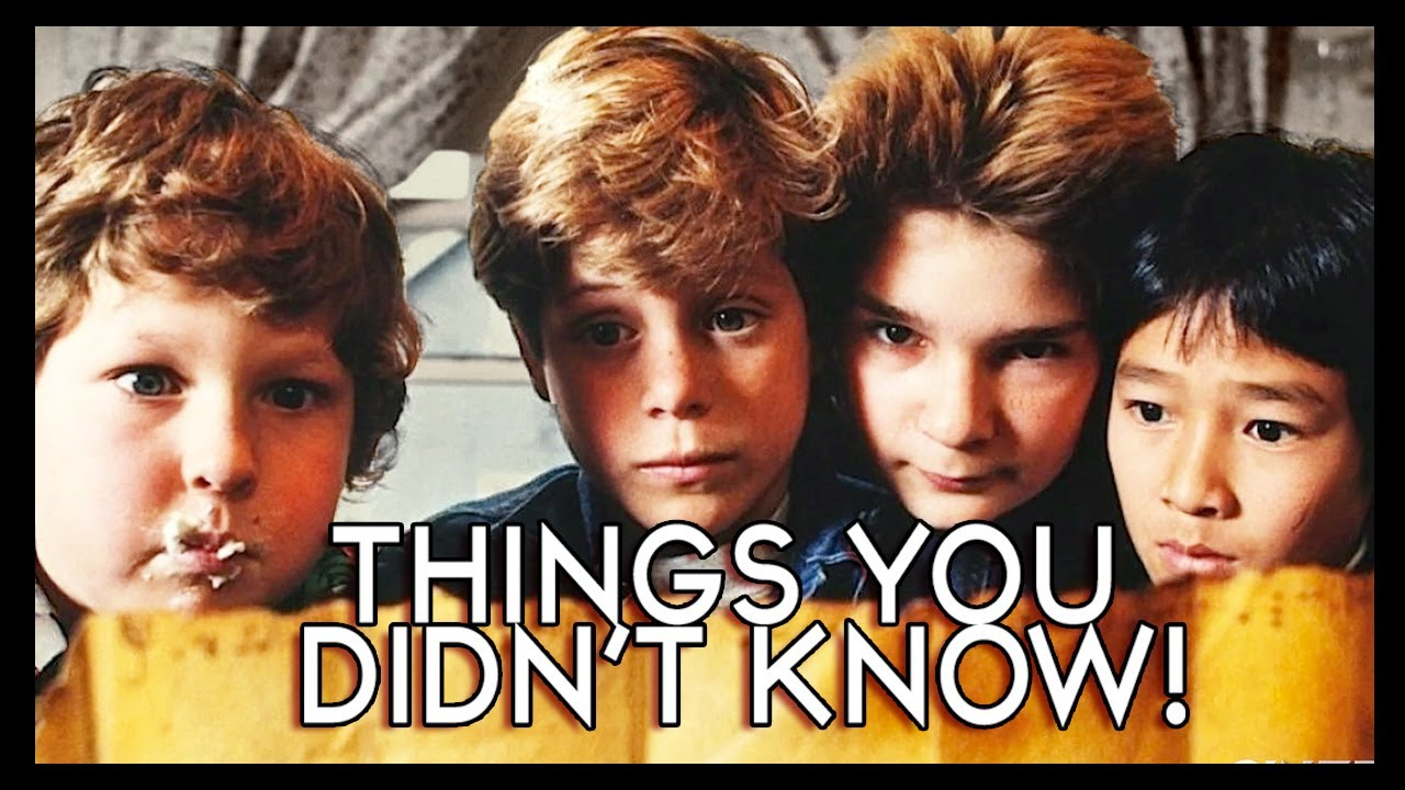 Seven Facts About the 1985 Cult Classic Film 'The Goonies' That You May Not Have Known