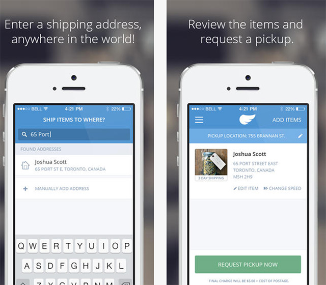 Shyp, A Service That Picks Up, Packs and Ships Your Packages