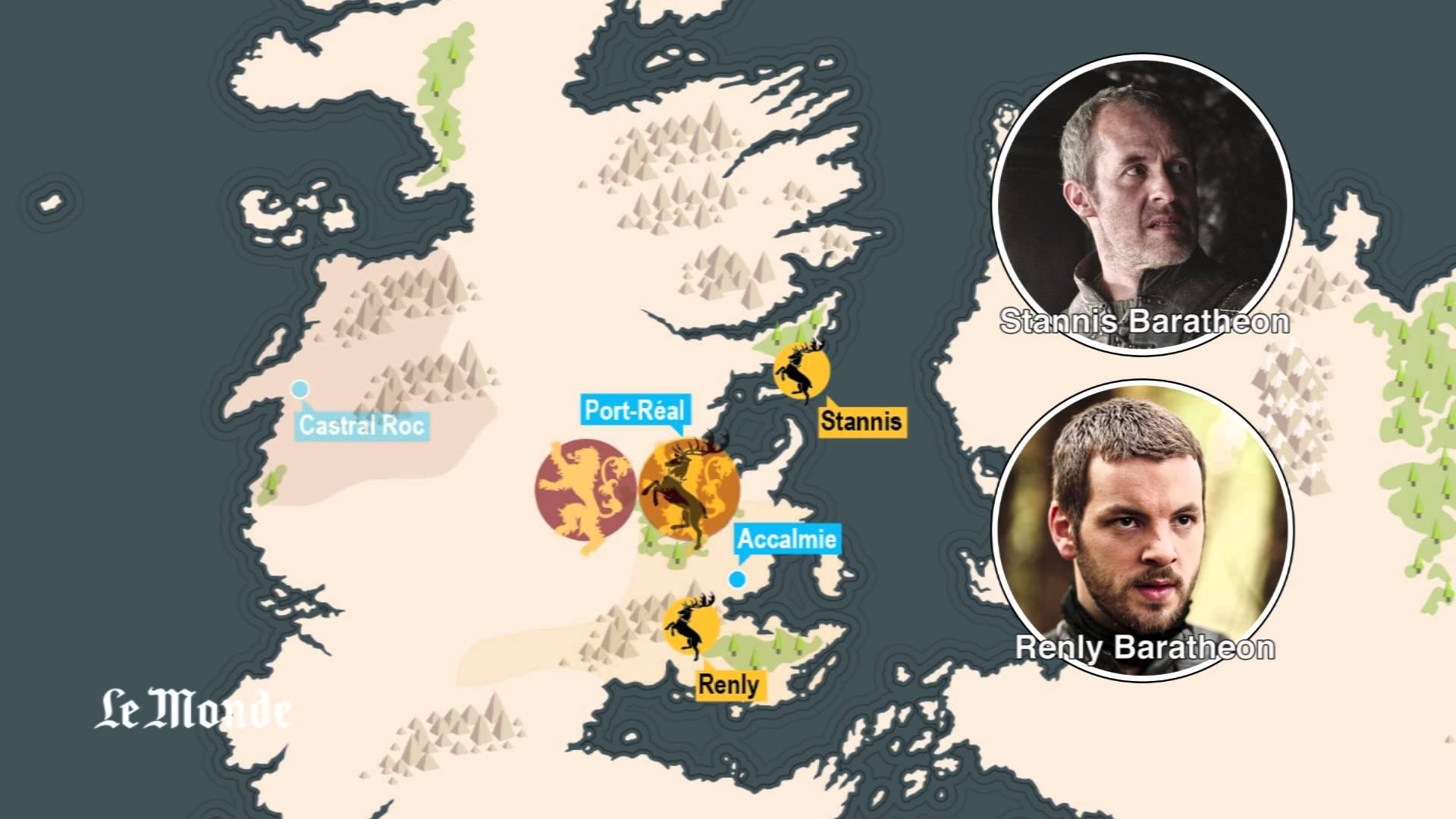 The First Three Seasons of 'Game of Thrones' Summarized in Less Than 5 Minutes with Maps