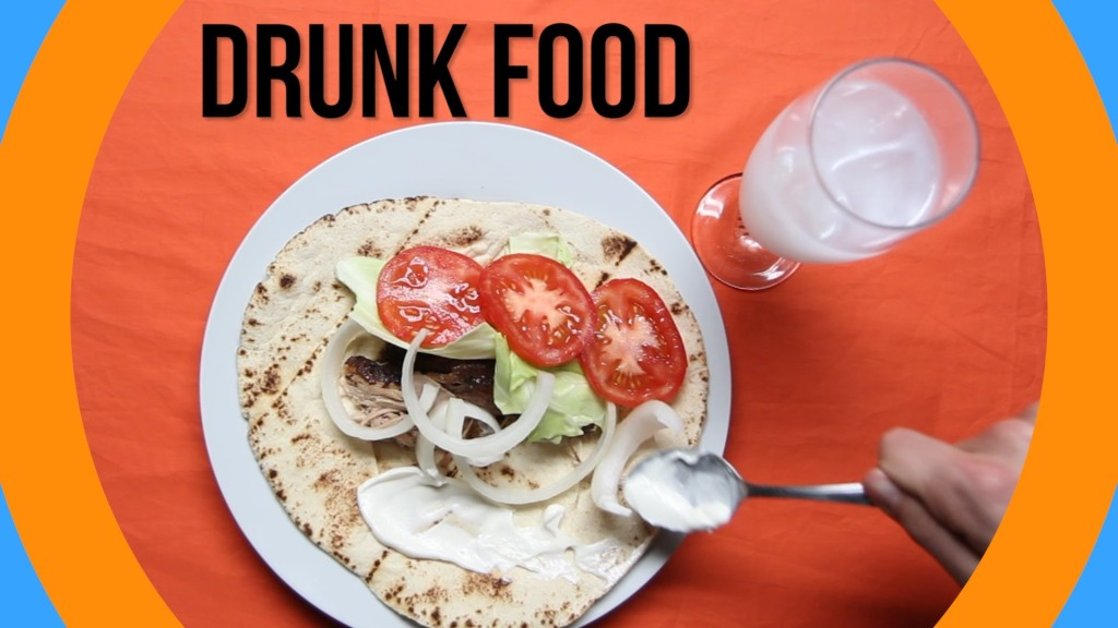 The Most Popular Things People Eat Around the World While Inebriated