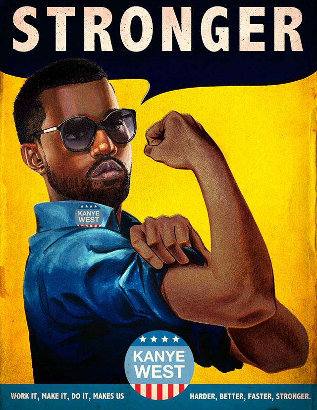 Kanye West Stronger