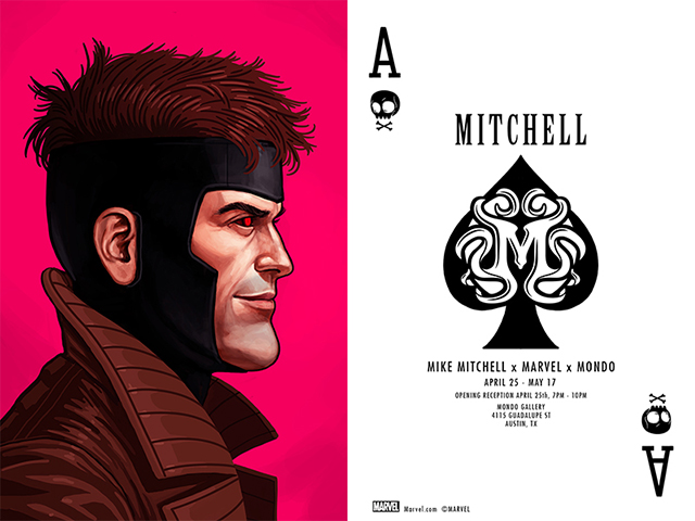 Mike Mitchell Marvel Art Show