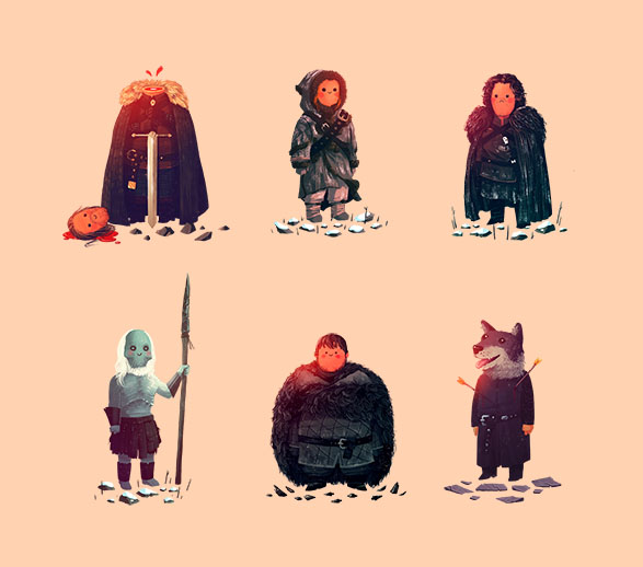 Game of Thones by Olly Moss