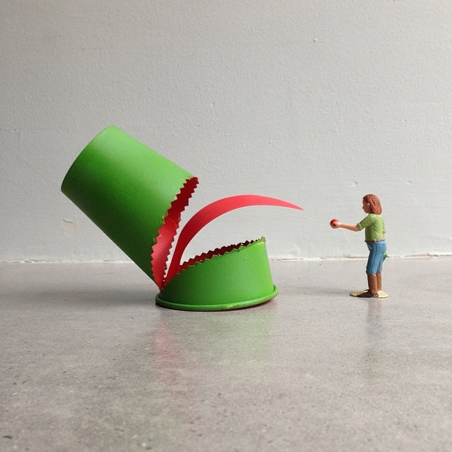 Cuppaday Paper Cup Art