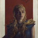 Remarkable 'Game of Thrones' Illustration of Daenerys Targaryen by Sam Spratt