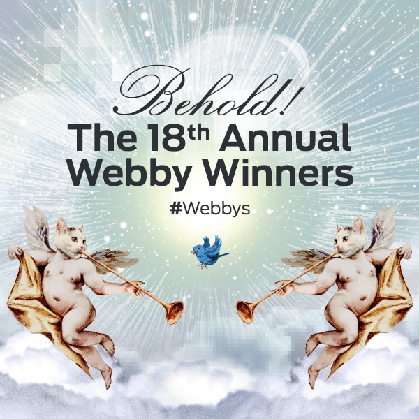 18th Annual Webby Awards Winners