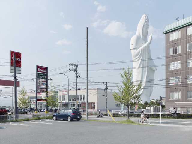Dai Kannon, Sendai, Japan, 330 ft, built in 1991