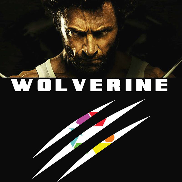 The 2013 Superhero Film 'The Wolverine' Remixed by Eclectic Method