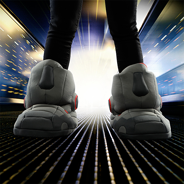 Giant Robot Slippers with Sound