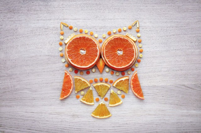 Delightful Food Art by Ukrainian Artist Daryna Kossar
