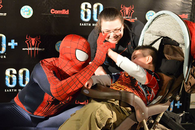 Spider-Man and Brayden