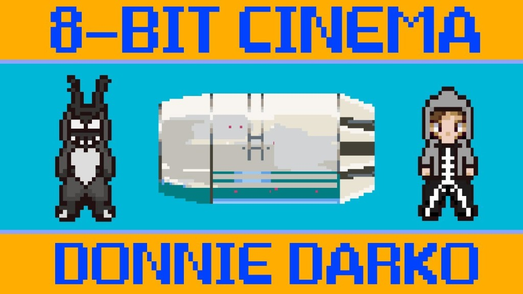 8-Bit Cinema – Donnie Darko Retold as an 8-Bit Animated Video Game
