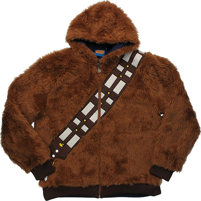 Reversible 'Star Wars' Chewbacca and Han Solo Hoodie