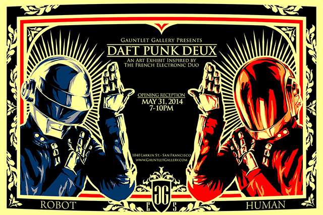 Daft Punk Deux art by epyon5
