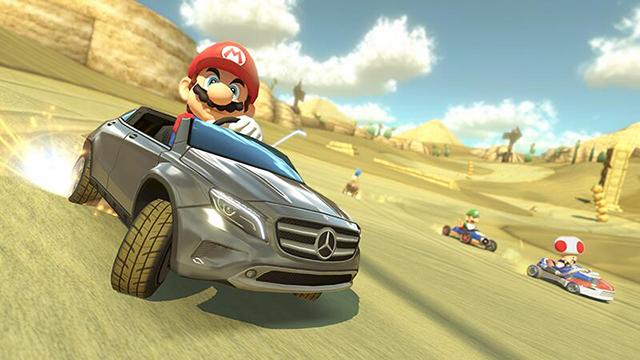 Super Mario Bros Mercedes GLA