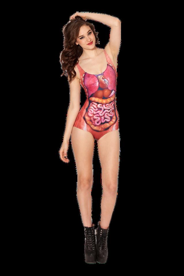 Dem Guts Swim Suit