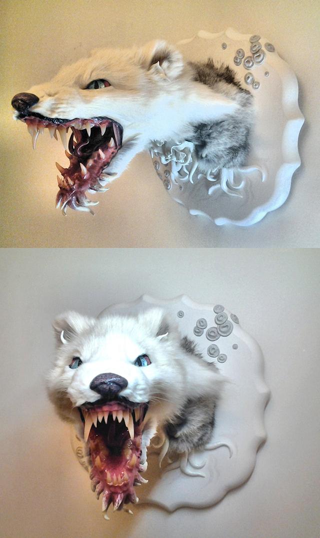 Arctic Merfox by Emi Slade