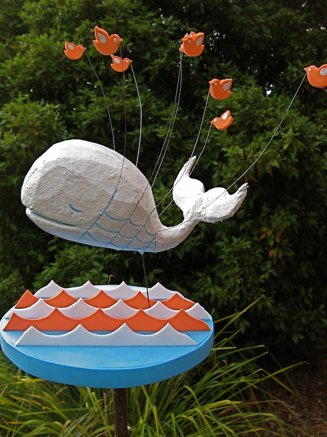 Fail Whale Sculpture