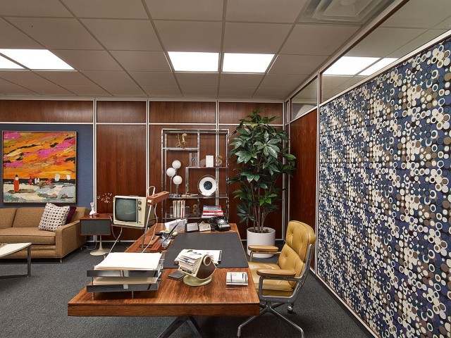 Mad Men Office Set