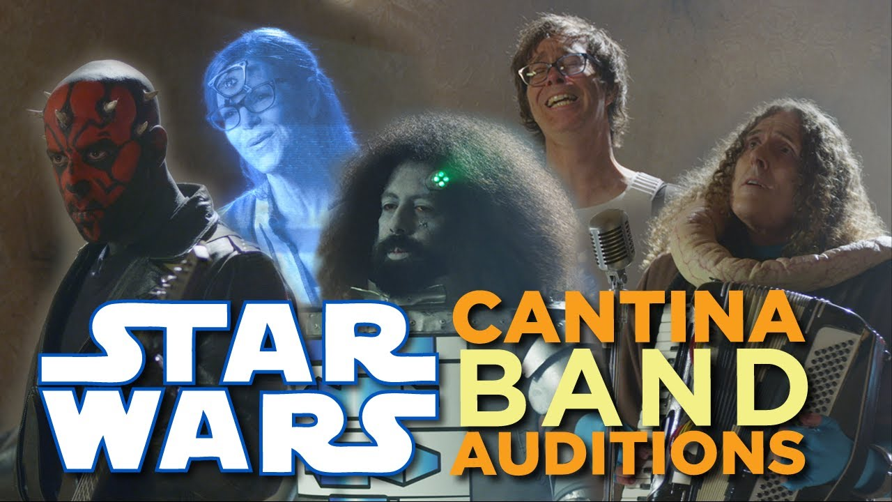 A Series of Musicians Audition for a Part in the Mos Eisley Cantina Band From 'Star Wars' for May the Fourth