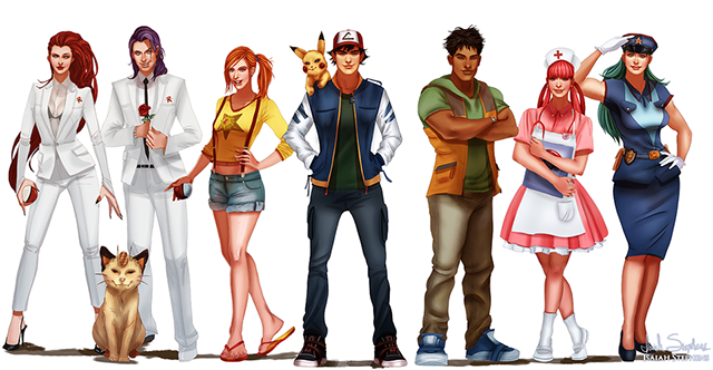 All Grown Up, A Series Of Popular Young Cartoon Characters -9041