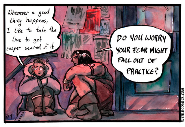 'By Crom!', An Autobiographical Webcomic Featuring Conan the Barbarian as a Spiritual Guide