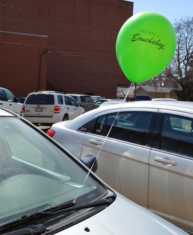 Jerk Balloons