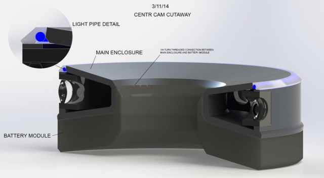 CENTR Camera Insides