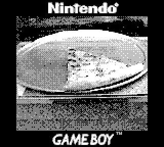 Game Boy Camera Pizza