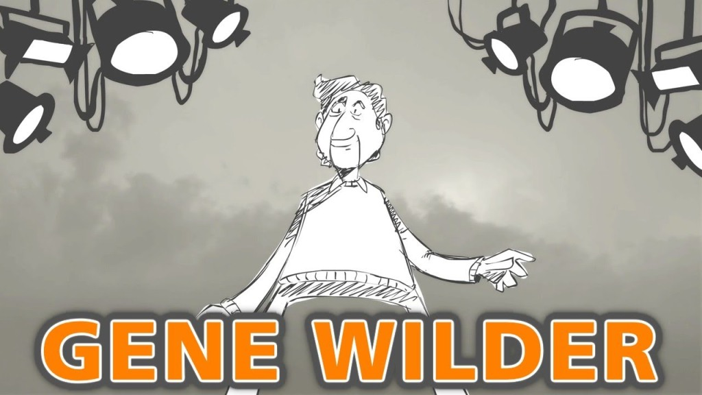 Gene Wilder Talks About Acting, Comedy & Playing Willie Wonka In 2007 Interview Animated By PBS