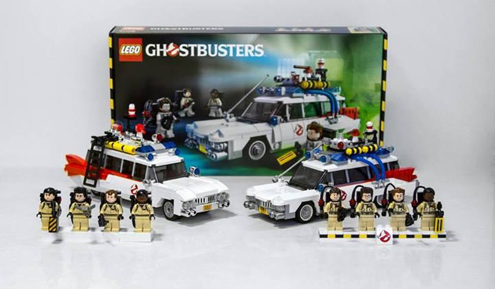 Ghostbusters LEGO Set Comparison